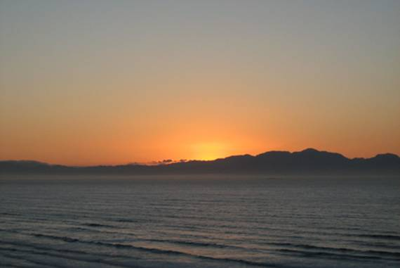 Sunrise on Muizenberg Beach